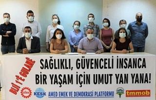 Diyarbakır 1 Mayıs'ı Dağkapı Meydanı'nda...
