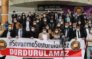 Diyarbakır Barosu: 2020'de 69 üyemize 79 soruşturma...