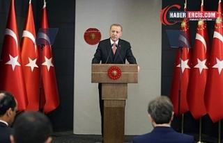 Erdoğan: 29 Nisan'dan 17 Mayıs'a kadar tam kapanmaya...
