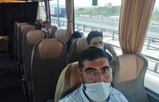 Evsiz bırakılan Kürt işçiler HDP'nin desteğiyle...