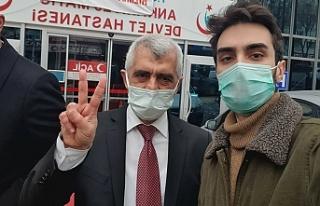 Gergerlioğlu'nun cezaevinde çektirdiği fotoğraflar...