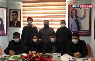 HDP Erciş İlçe Örgütü 2. Olağan Üstü Kongresini...