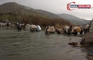İran muhafızları 5 kolberi yaraladı, 30 kolberden...