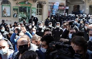 İstanbul'da Kobanê Davası açıklamasına...
