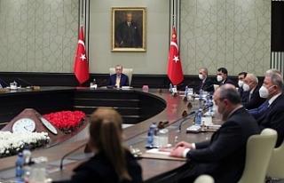 Kabine toplantısından öncesi açıklama: Çok daha...