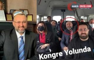 AKP kongresine katılan Belediye Meclis Üyesi Koronavirüsten...