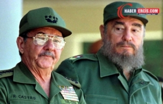 Küba Komünist Partisi'nin lideri Raúl Castro...