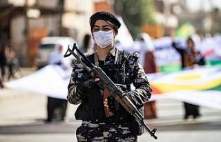 Rojava'da Koronavirüsten kaynaklı sokağa çıkma...