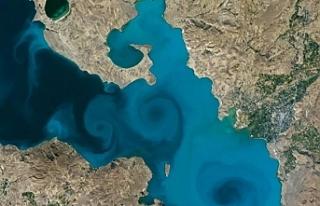 NASA'nın yarışmasında Van Gölü fotosu finale...