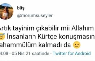 Öğretmenden ırkçı paylaşım: Kürtçe'ye tahammülüm...