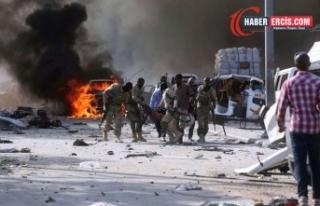 Somali'nin başkenti Mogadişu'da iç çatışmalar...