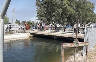 Sulama kanalına düşen 4 çocuktan 2'si kayboldu