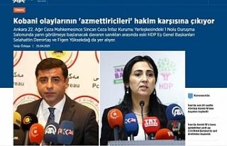Temel'den Anadolu Ajansı'na: Kobanê olaylarının...