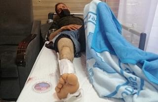 Van'da askerler bir köylüyü silahla vurdu,...