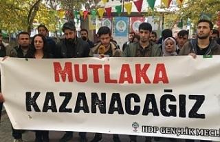 Van'da HDP Gençlik meclis üyesi 7 kişi tahliye...