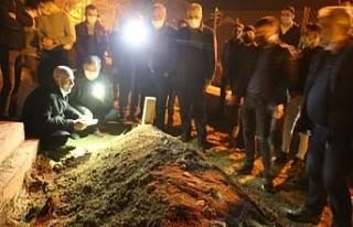 Yaşamını yitiren Kürt mülteci Ergün defnedildi