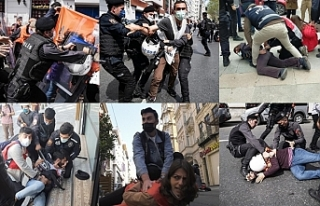 1 Mayıs'a polis şiddeti damga vurdu