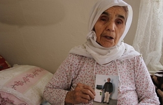 80 yaşında 29 yıldır oğluna hasret