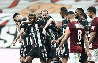 Beşiktaş Şampiyonluk yolunda HataySpor'u 7-0...