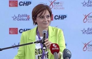 CHP İstanbul İl Başkanı Canan Kaftancıoğlu'ndan...