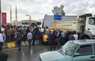 Erciş'te zincirleme trafik kazası 6 yaralı