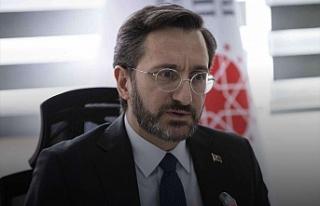 Fahrettin Altun Demirtaş'ı hedef aldı