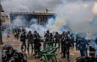 Kolombiya'da halk yoksulluk karşısında isyanda:...