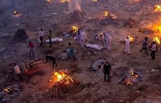 Koronavirüsten Hindistan'da günlük ölüm...