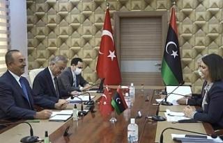 Libya'dan Türkiye'ye 'yabancı güçler...