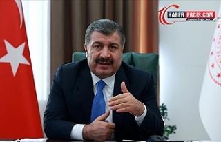 Sağlık Bakanı Fahrettin Koca'dan aşı açıklaması