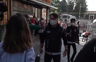 Şiddeti görüntüleyen gazetecilere polis engeli:...
