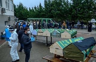 Türkiye'de Koronavirüsten hayatını kaybedenlerin...