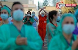 DSÖ: Salgında 115 bin sağlık çalışanı hayatını...