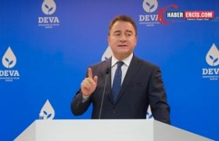 Babacan HDP'ye açılan kapatma davasına ilişkin...