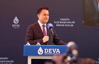 Babacan: Erdoğan için yavaş yavaş görevden ayrılma...