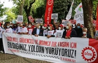 DİSK, 15-16 Haziran'da hayatını kaybedenleri...