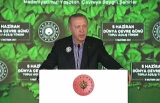 Erdoğan: Müsilaj belasından da denizlerimizi kurtaracağız