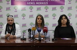 HDP Kadın Meclisi: Emeğinin karşılığını alamayan...