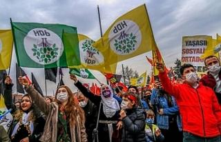 HDP: Tuğlayı halkların ortak iradesi ve mücadelesi...