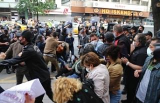 Kadınların açıklamasına polis müdahalesi: Çok...