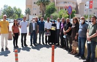 KESK'ten Şenyaşar ailesine ziyaret