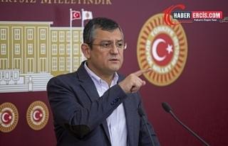 Özel'den Erdoğan'a: Sen de suç işleri...