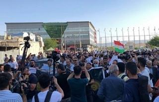 Süleymaniye'de TSK'nin sınır ötesi operasyonu...
