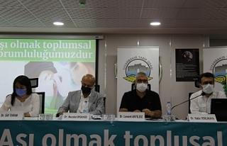 'Aşı olmak toplumsal sorumluluğumuz'