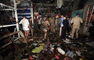 Bağdat'ta 35 kişinin öldüğü saldırıyı...