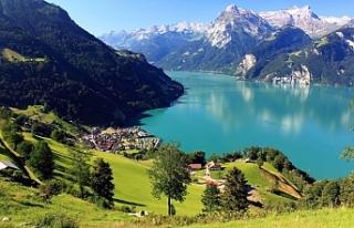 Buzulların erimesiyle İsviçre'de binden fazla...