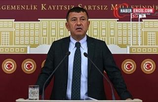 CHP'li Veli Ağbaba'dan Erdoğan'a...