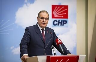 CHP Sözcüsü Faik Öztrak: Devlet krizinin faturası...