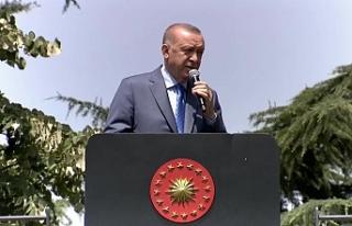 """Cumhurbaşkanı Erdoğan, """"Katar, Tank Palet'in..."""