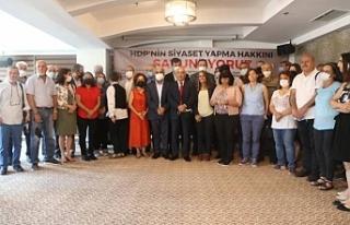 Demokrasi güçleri: HDP'nin siyaset yapma hakkını...
